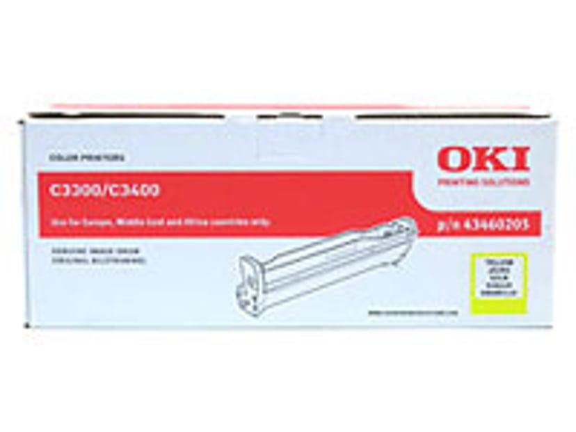 OKI Trumma Gul - C3300/3400