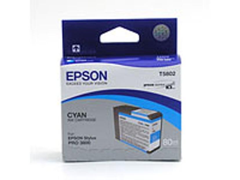 Epson Blæk Cyan T5802 - PRO 3800