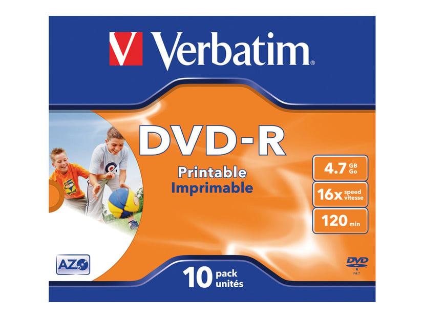 Verbatim 10 x DVD-R 4.7GB