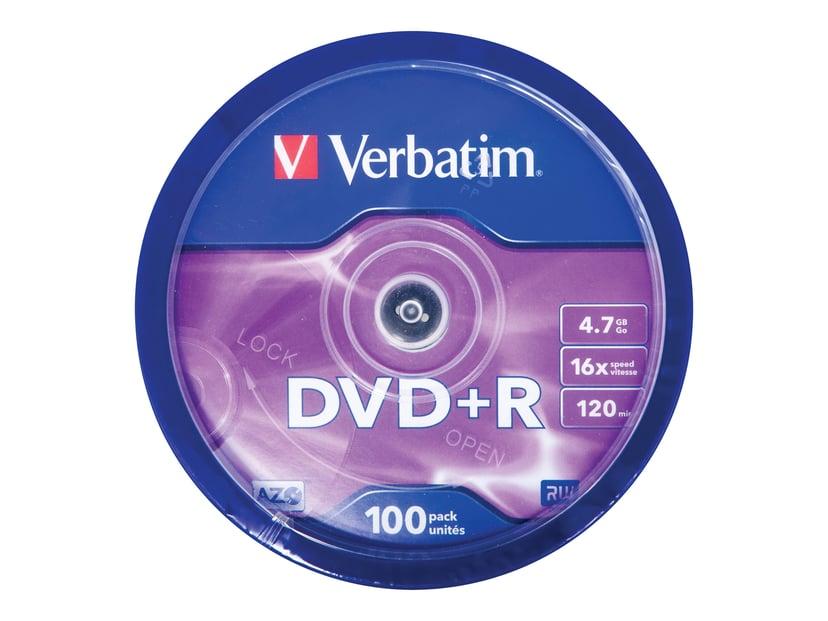 Verbatim DVD+R x 100 4.7GB