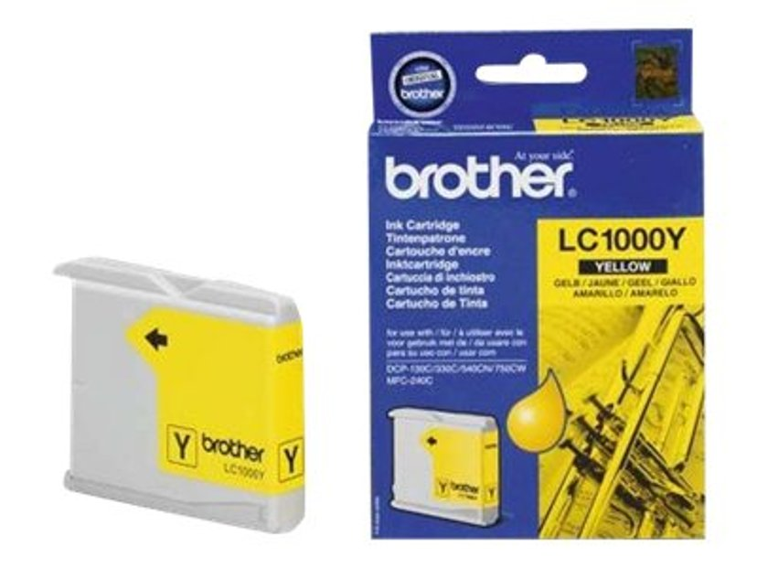 Brother Blæk Gul 400 Pages - DCP-540CN