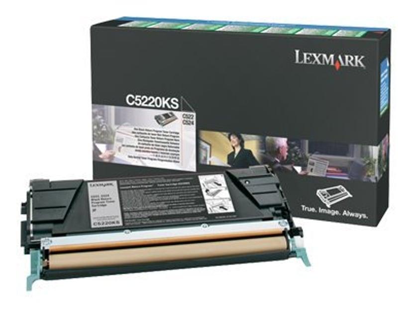Lexmark Toner Svart 4k C522N/C524 Return