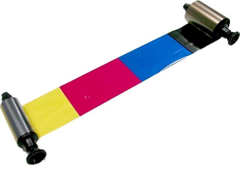 Evolis Ribbon Color YMCKO 200-Cards