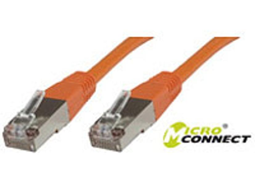 Microconnect Netværkskabel RJ-45 RJ-45 CAT 6 10m Orange