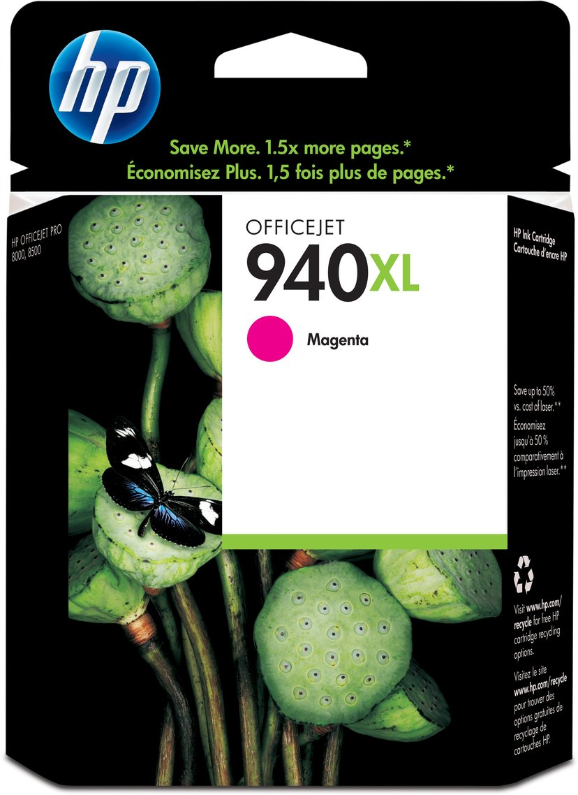 HP Bläck Magenta No.940XL