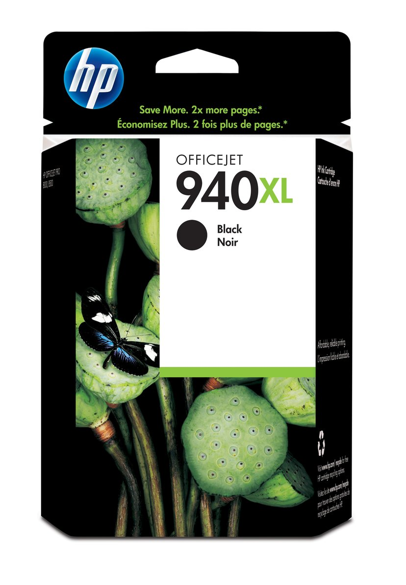 HP Muste Musta No.940XL