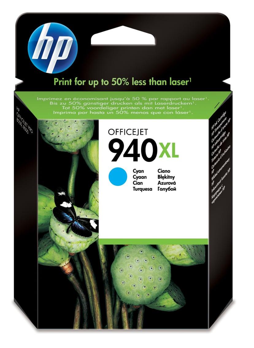 HP Blekk Cyan No.940XL