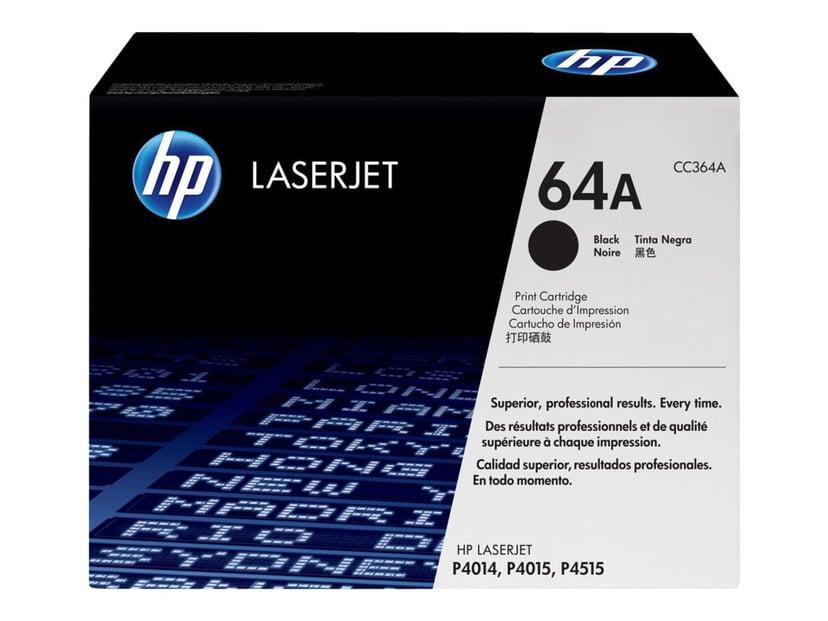 HP Toner Svart 10K - CC364A