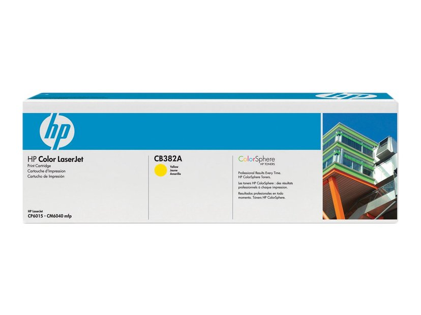 HP Toner Gul 21K - CB382A