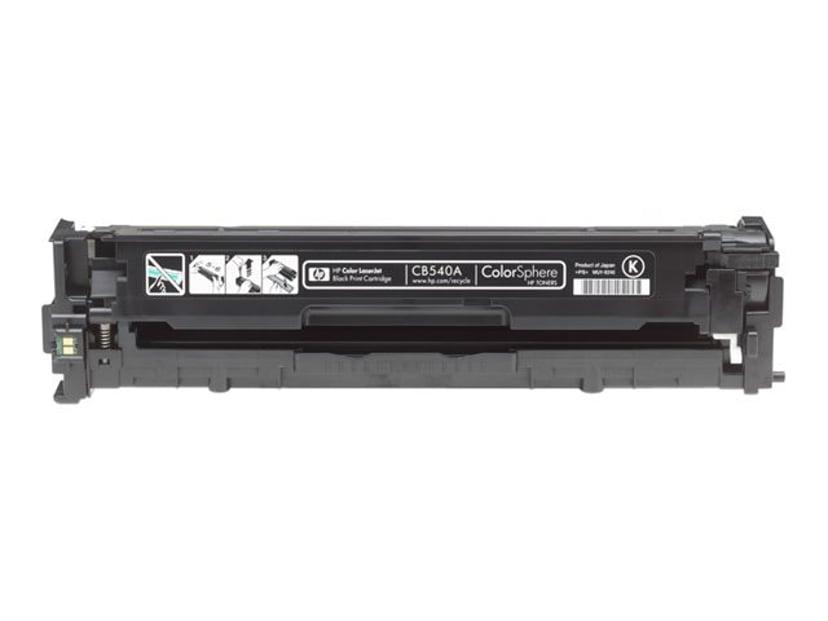 HP Toner Svart 125A 2.2K - CB540A