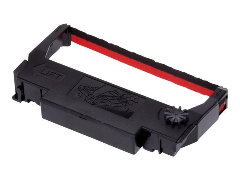 Epson Färgband Svart/Röd ERC-38BR - TM-300