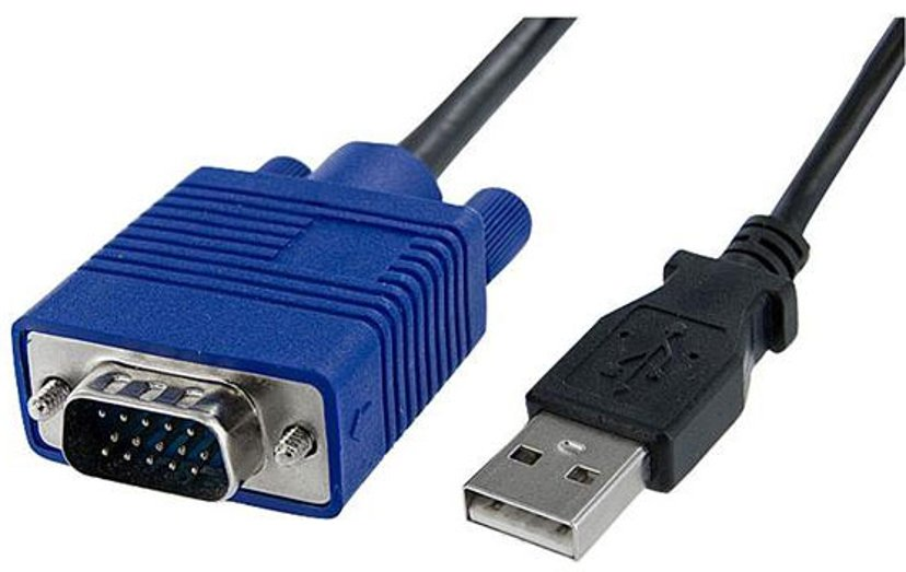 Startech KVM Console to USB 2.0 Portable Laptop Crash Cart Adapter