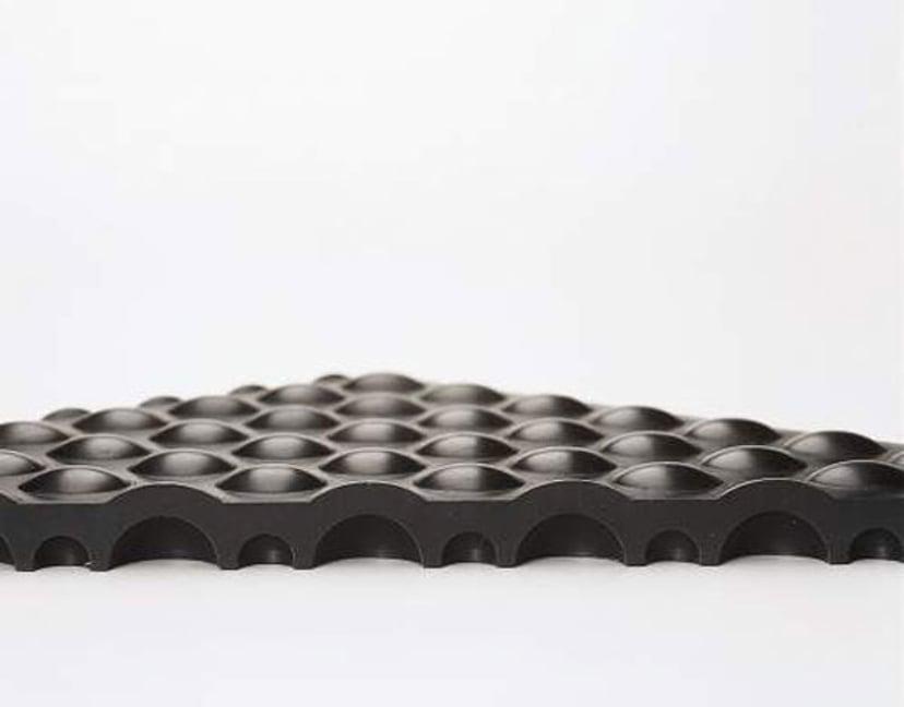 Matting Yoga Flex 60X90cm Black