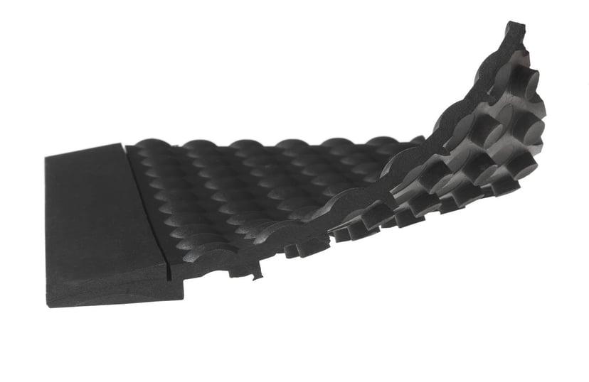 Matting Yoga Bubble 90X120cm Black