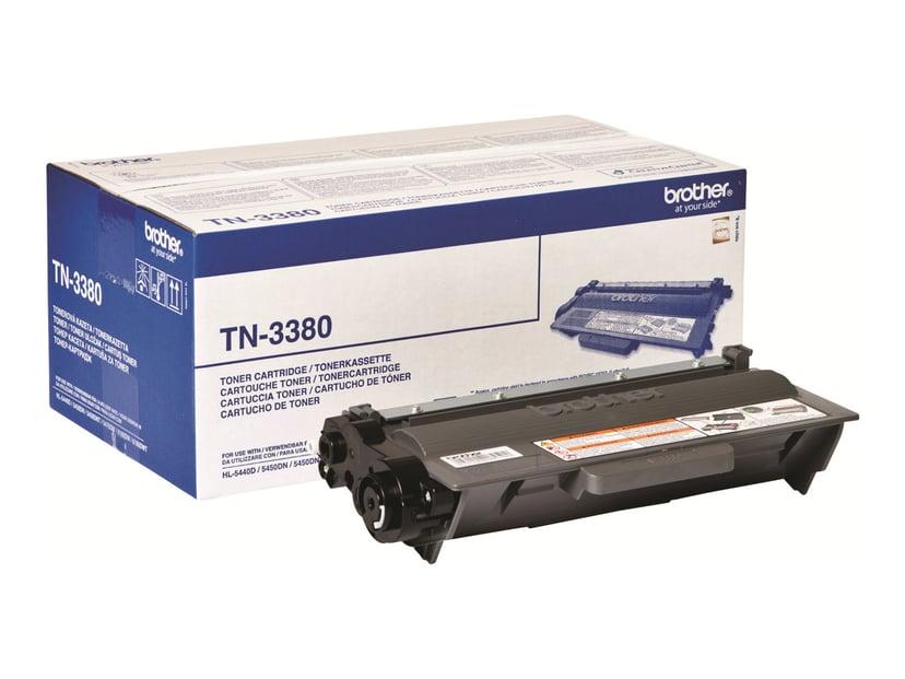 Brother Toner Sort TN-3380 8k - HL-5450DN