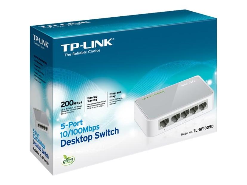 TP-Link TL-SF1005D 5-Port 10/100Mbps Desktop Switch