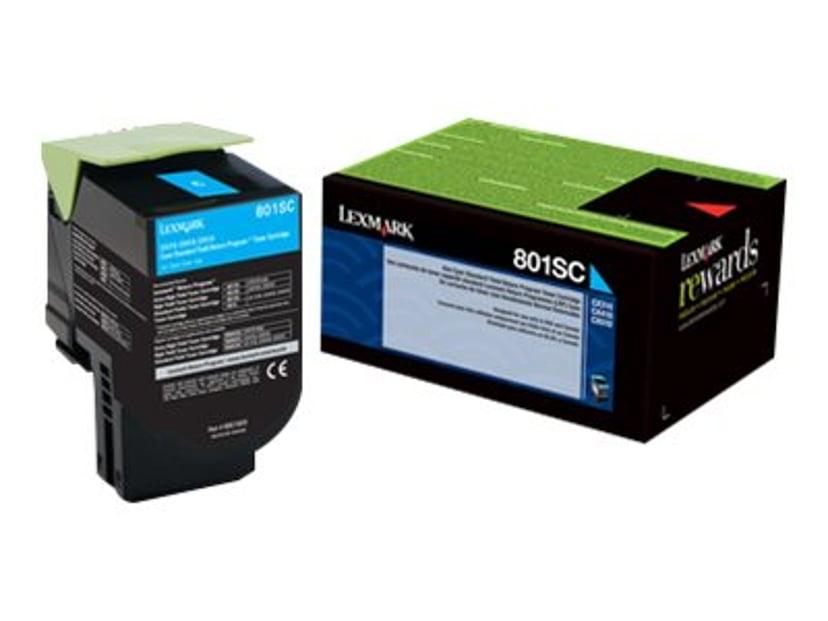 Lexmark Toner Cyan 802SC 2k Return