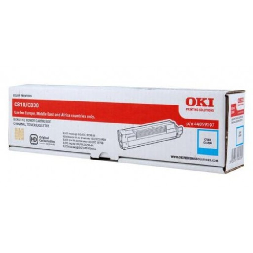 OKI Toner Cyaan 8k - C810/C830