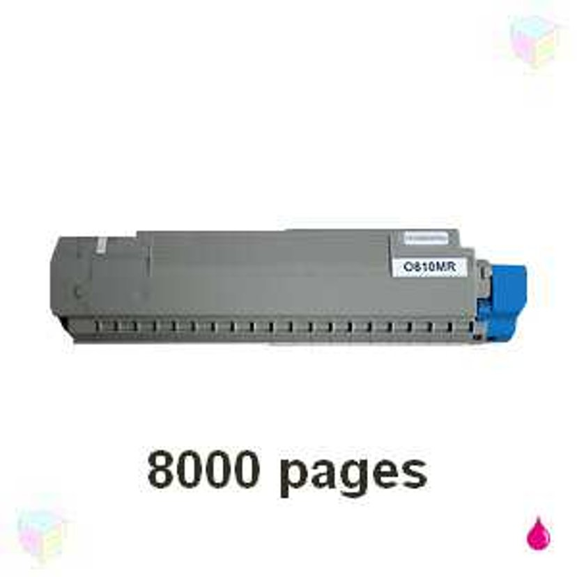 OKI Värikasetti Magenta 8k - C810/C830