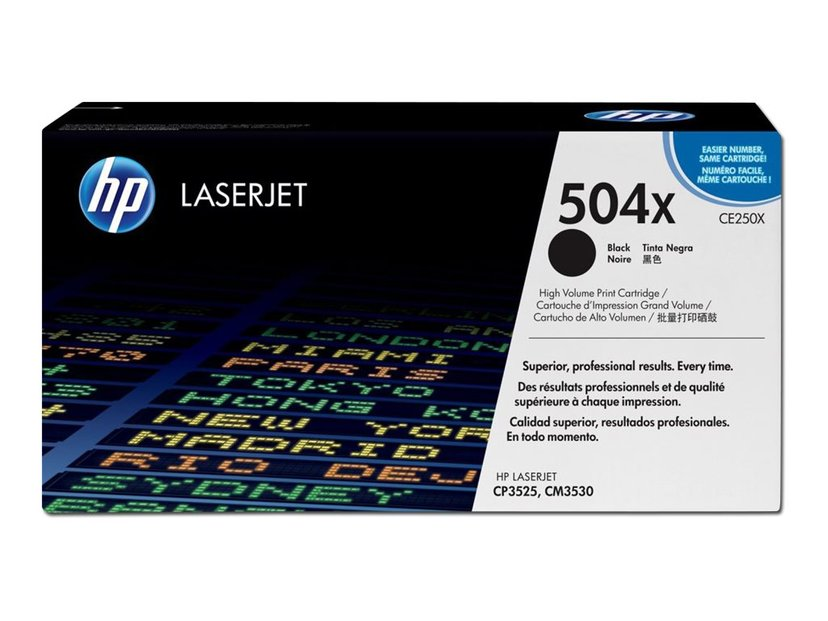 HP Toner Sort 10K - CE250X
