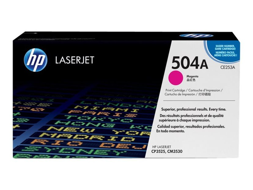 HP Värikasetti Magenta 7K - CE253A