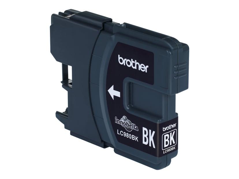 Brother Blæk Sort LC980BK - DCP-145C/165C