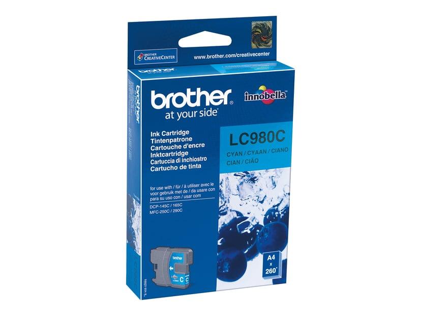 Brother Blekk Cyan LC980C - DCP-145C