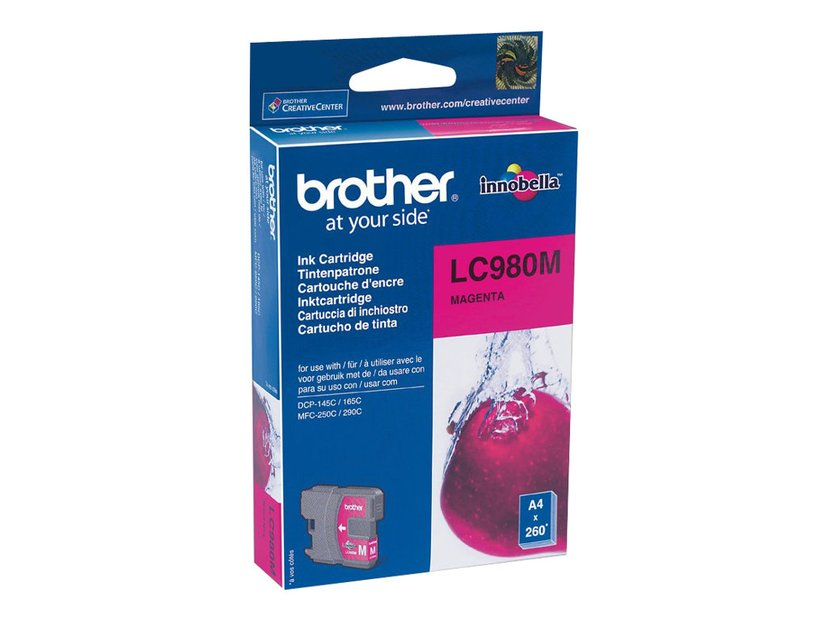 Brother Muste Magenta LC980M - DCP-145C