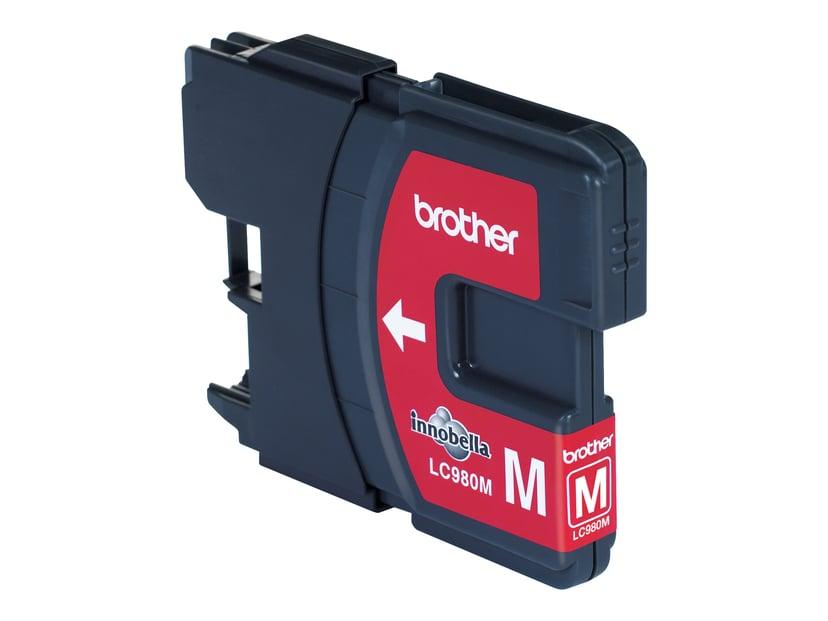 Brother Blekk Magenta LC980M - DCP-145C
