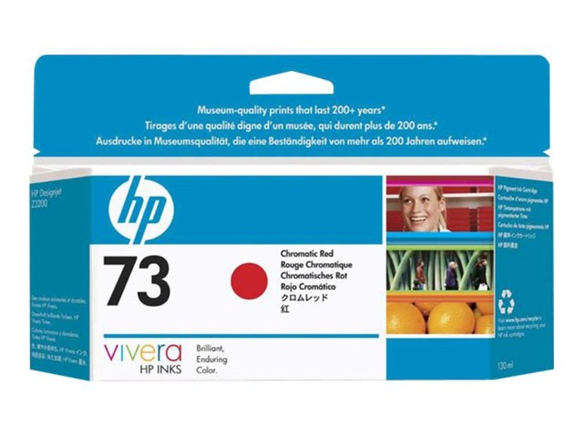 HP Bläck Chrome Röd No.73 - DJ Z3200