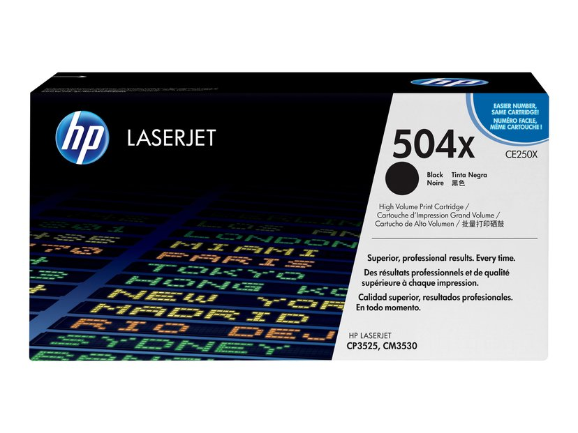 HP Toner Svart 10K - CE250X