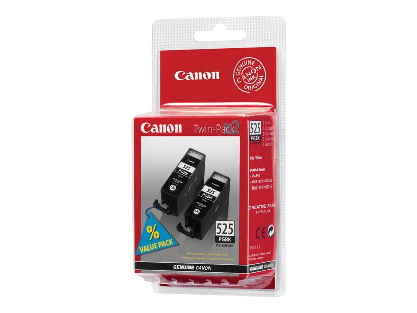 Canon Blekk Svart PGI-525PGBK TWINPACK - MG5150/IP4850