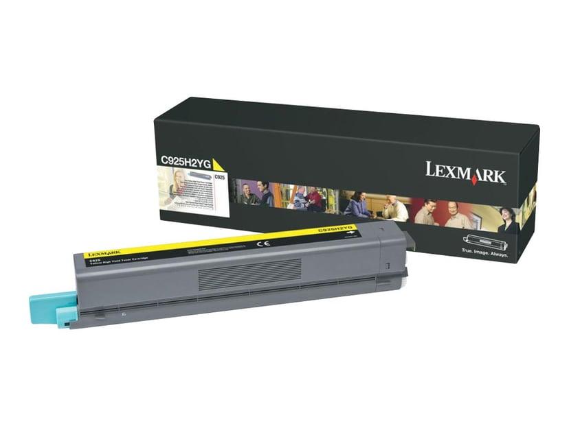 Lexmark Toner Gul 7,5k - C925