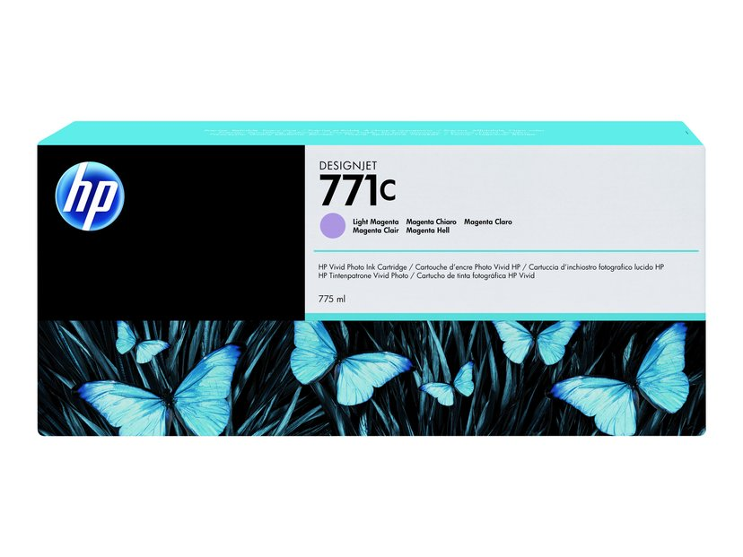 HP Blæk Ljus Magenta No.771C - DJ Z6200
