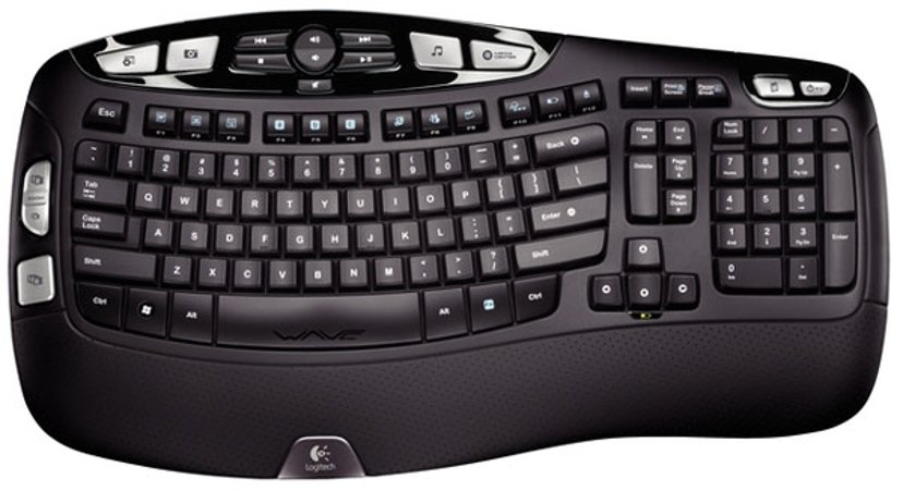 Logitech K350 Trådløs Tastatur Svart