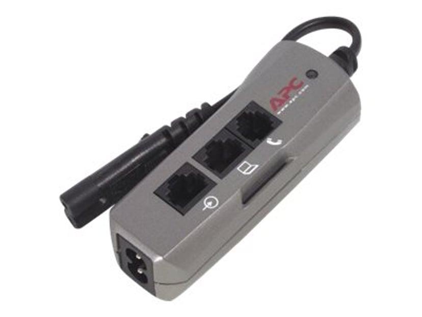 APC SurgeArrest Notebook Pro Ekstern 4A Strøm IEC 60320 C7 1st Sølv
