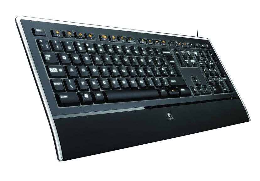 Logitech K740 Langallinen Näppäimistö Musta
