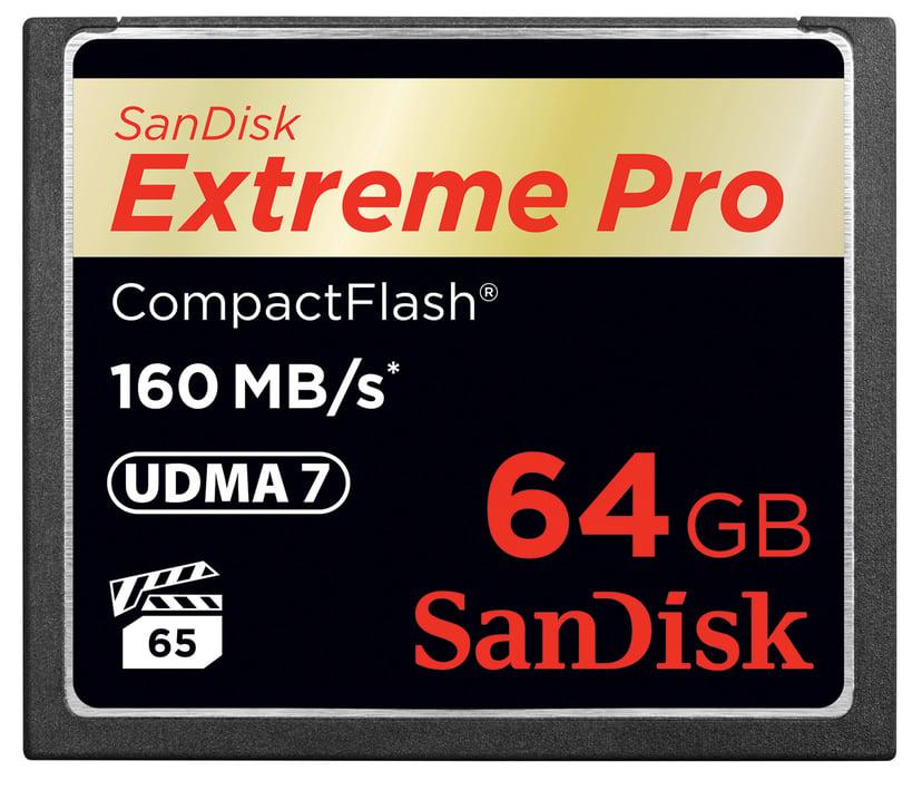 SanDisk Extreme Pro 64GB CompactFlash Kort