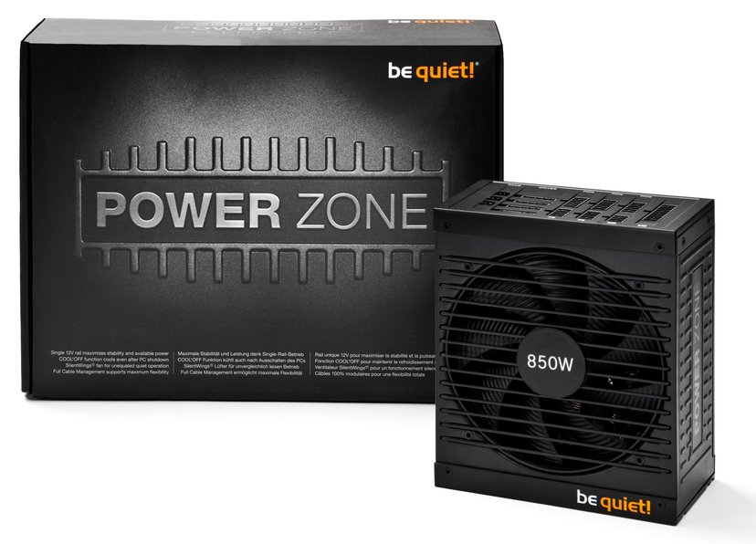 be quiet! Power Zone BN212 850W 80 PLUS Bronze
