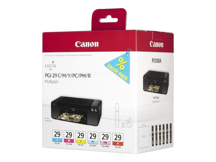 Canon Bläck Multipack PGI-29 (CMY/PC/PM/R)