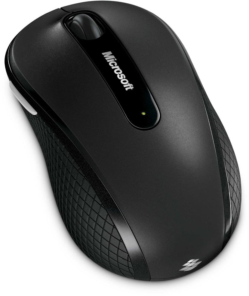 Microsoft Wireless Mobile Mouse 4000 Mus Trådlös Svart