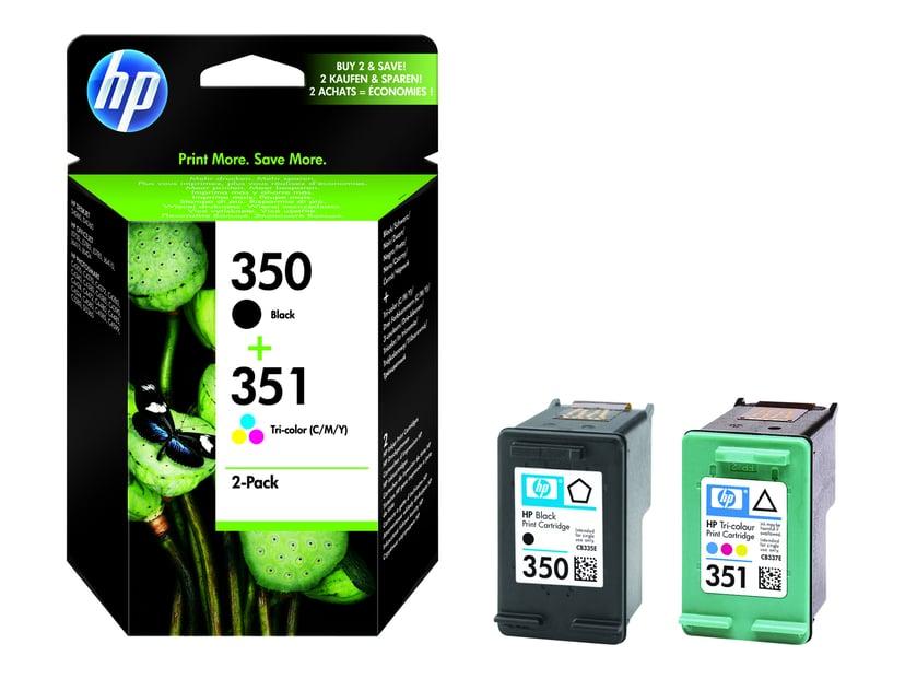 HP Blekk Kit C/M/Y/S No.350/351 - OfficeJet J5780 J5785
