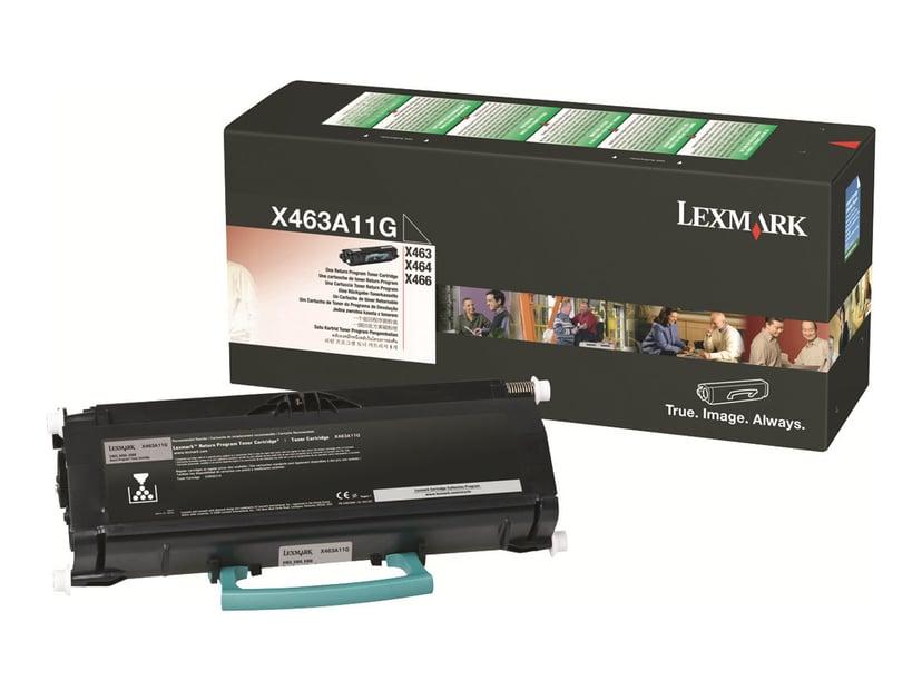Lexmark Värikasetti Musta 3.5k - X46X Return