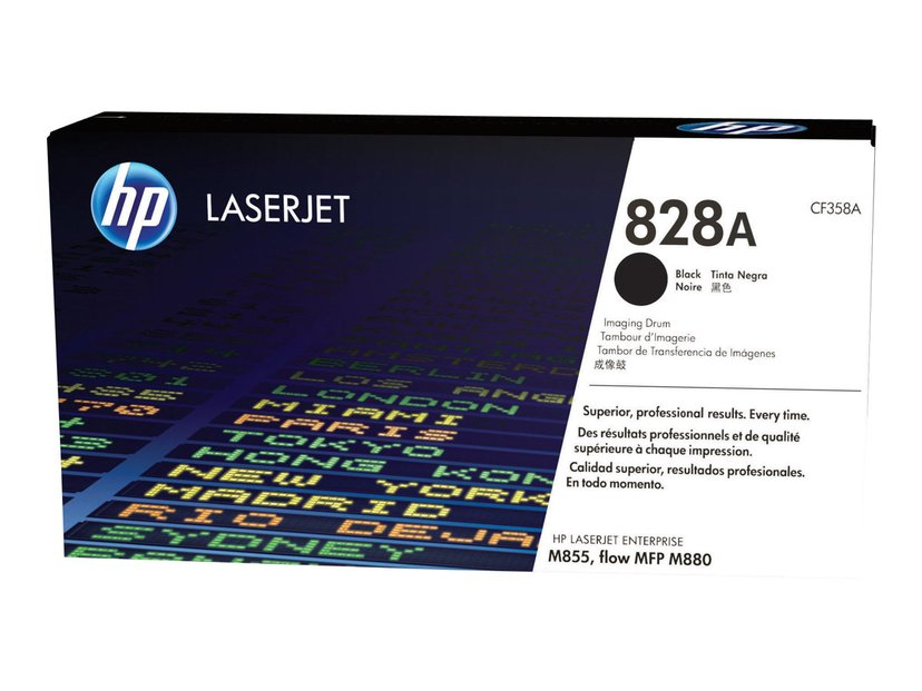 HP Trommel Svart 828A 30K - M880z