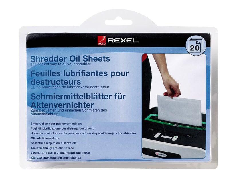 Rexel Oljeark for makurleringsmaskin (en pakke 20)