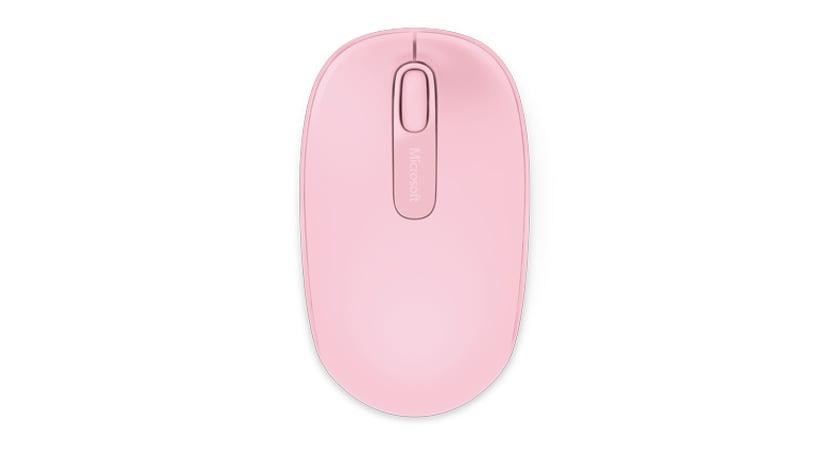 Microsoft Wireless Mobile Mouse 1850 Muis Draadloos Roze