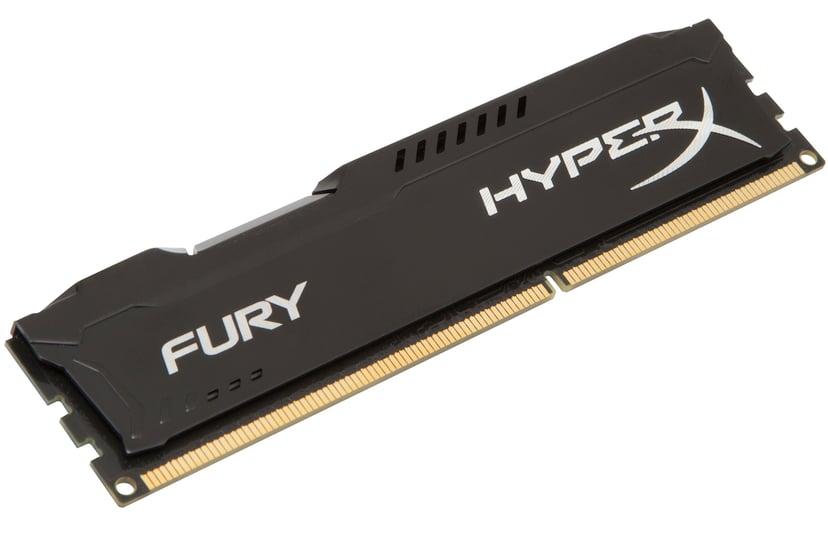 Kingston HyperX FURY Black Series 8GB 1,600MHz DDR3 SDRAM DIMM 240-pin