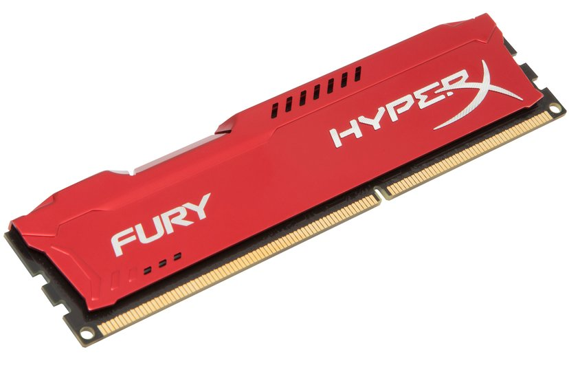 Kingston HyperX FURY Red Series 8GB 1,600MHz DDR3 SDRAM DIMM 240-pin