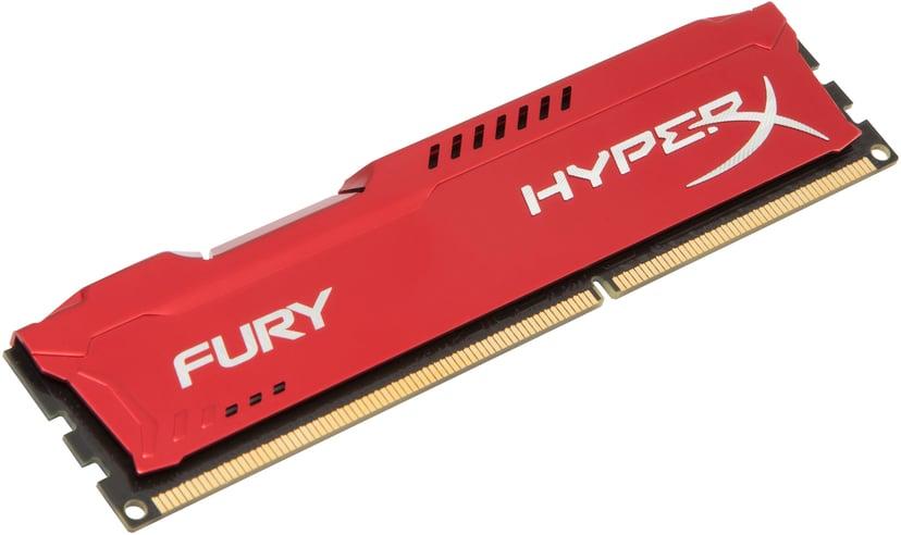 Kingston HyperX FURY Red Series 8GB 1,866MHz DDR3 SDRAM DIMM 240-pin