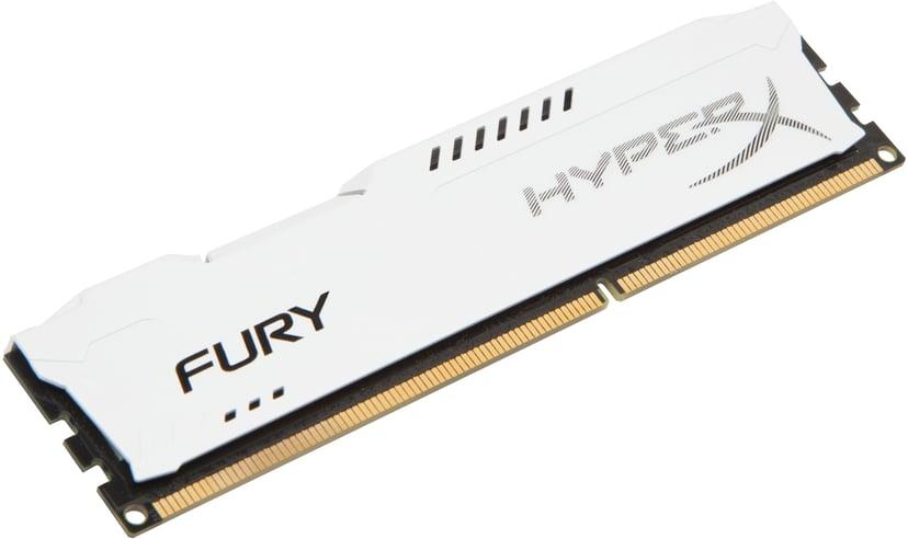 Kingston Hyperx Fury White Series 8GB 1,600MHz DDR3 SDRAM DIMM 240-pin